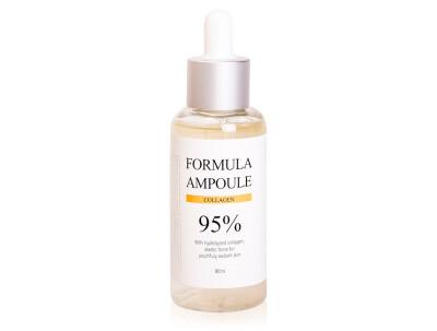 Сыворотка для упругости кожи с коллагеном Esthetic House Formula Ampoule Collagen, 80мл - Фото №1