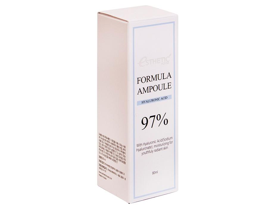 Увлажняющая сыворотка для лица с гиалуроновой кислотой Esthetic House Formula Ampoule Hyaluronic Acid, 80мл - Фото №4