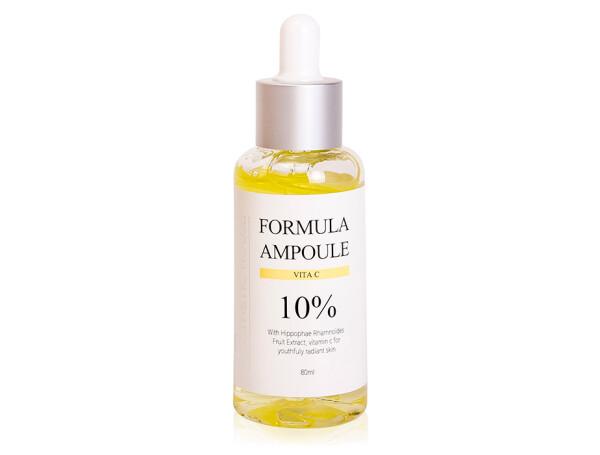 Осветляющая сыворотка для лица с витамином С Esthetic House Formula Ampoule Vita C, 80мл - Фото №1