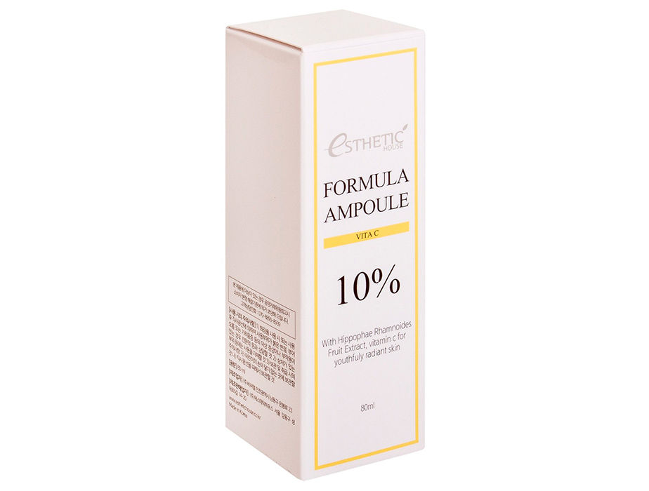Осветляющая сыворотка для лица с витамином С Esthetic House Formula Ampoule Vita C, 80мл - Фото №4