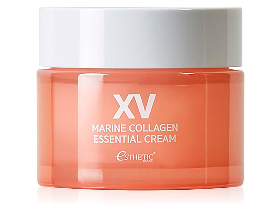 Интенсивно увлажняющий крем для лица с морским коллагеном Esthetic House Marine Collagen Essential Cream, 50мл - Фото №1