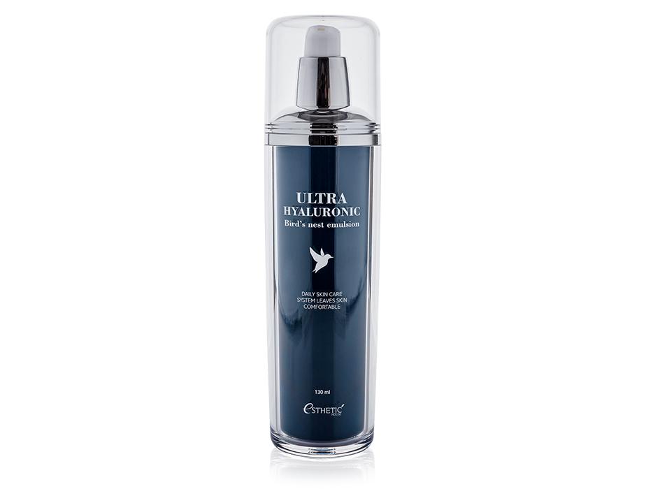 Эмульсия для лица с экстрактом ласточкиного гнезда и гиалуроновой кислотой Esthetic House Ultra Hyaluronic Acid Bird's Nest Emulsion, 130мл