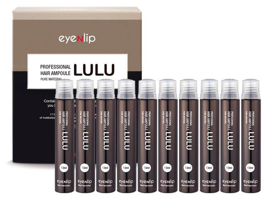 Восстанавливающий ампульный филлер для волос Eyenlip Professional Hair Ampoule Lulu, 10шт по 13мл