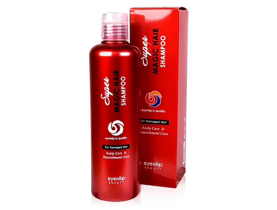Восстанавливающий питательный шампунь для поврежденных волос Eyenlip Super Magic Hair Shampoo, 300мл - Фото №2