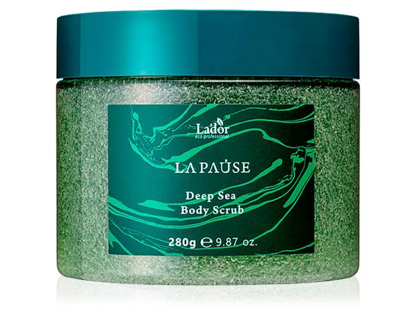 Скраб для тела с морской солью Lador La-Pause Deep Sea Body Scrub, 280г - Фото №1