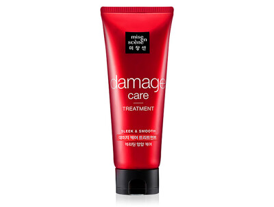Восстанавливающая маска для волос Mise En Scene Damage Care Treatment, 180мл - Фото №1
