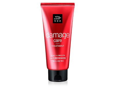 Восстанавливающая маска для волос Mise En Scene Damage Care Treatment, 330мл - Фото №1