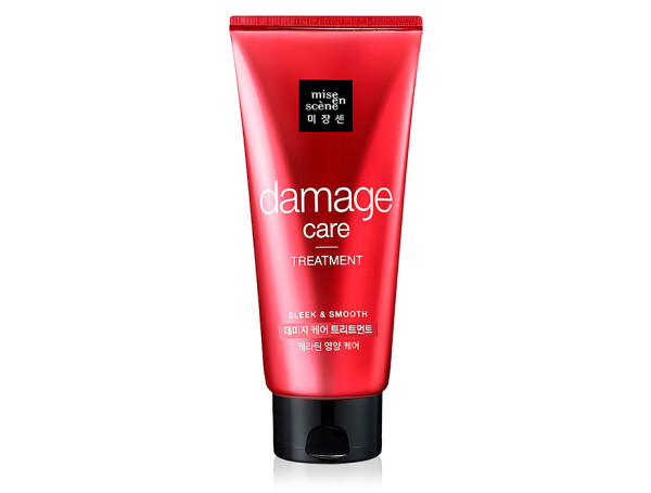 Восстанавливающая маска для волос Mise En Scene Damage Care Treatment, 330мл - Фото №1