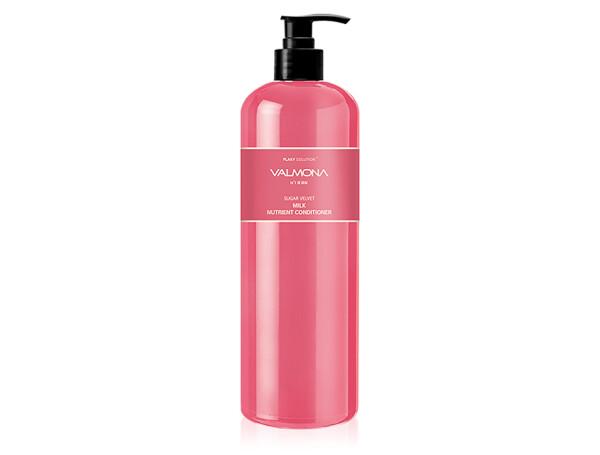 Восстанавливающий кондиционер для волос Valmona Flaky Solution Sugar Velvet Milk Nutrient Conditioner, 480мл - Фото №1