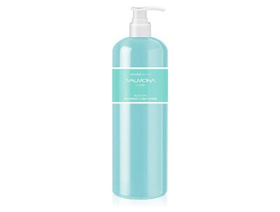 Увлажняющий кондиционер для волос Valmona Recharge Solution Blue Clinic Nutrient Conditioner, 480мл - Фото №1