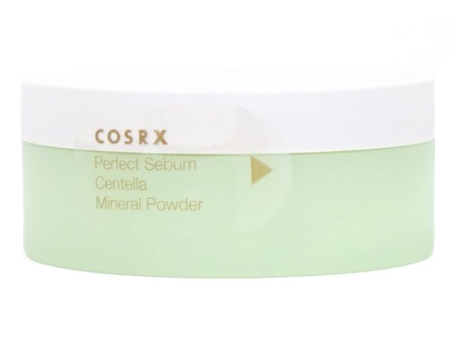 Бесцветная матирующая пудра с экстрактом центеллы азиатской Cosrx Perfect Sebum Centella Mineral Powder, 5г - Фото №2