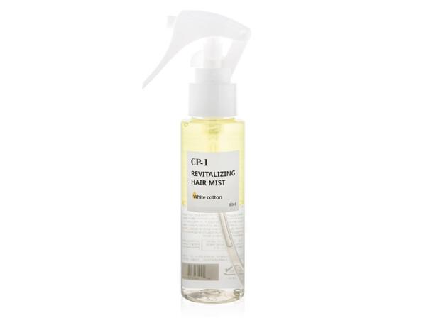 Парфюмированный спрей-мист для волос Esthetic House CP-1 Revitalizing Hair Mist White Cotton, 80мл - Фото №1