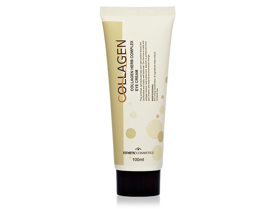 Крем для кожи вокруг глаз с коллагеном и растительными экстрактами Esthetic House Collagen Herb Complex Eye Cream, 100мл