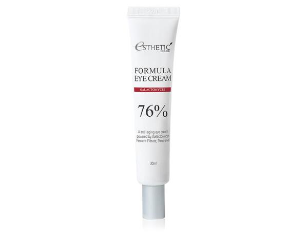 Восстанавливающий защитный крем для кожи вокруг глаз с галактомисисом Esthetic House Formula Eye Cream Galactomyces 76%, 30мл - Фото №1