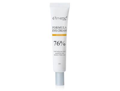 Питательный крем для кожи вокруг глаз с муцином улитки Esthetic House Formula Eye Cream Gold Snail 76%, 30мл - Фото №1