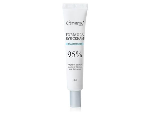 Увлажняющий крем для кожи вокруг глаз с гиалуроновой кислотой Esthetic House Formula Eye Cream Hyaluronic Acid 95%, 30мл - Фото №1