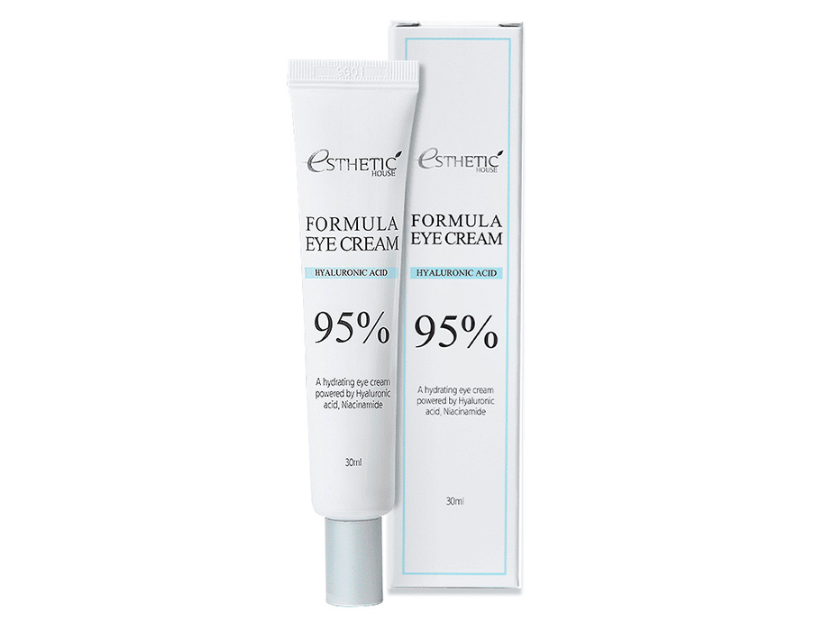 Увлажняющий крем для кожи вокруг глаз с гиалуроновой кислотой Esthetic House Formula Eye Cream Hyaluronic Acid 95%, 30мл - Фото №2