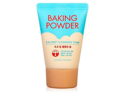 Пенка для глубокой очистки кожи лица Etude House Baking Powder B.B Deep Cleansing Foam, 30мл - Фото №1