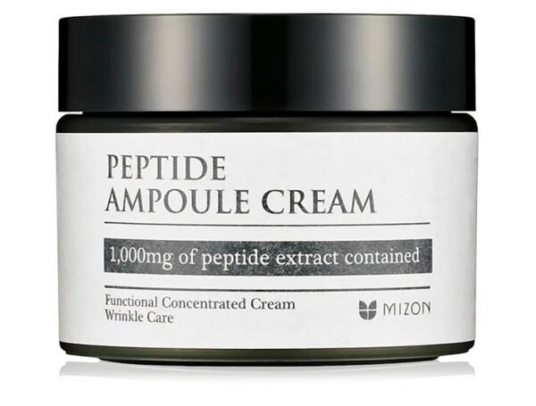 Пептидный крем для лица Mizon Peptide Ampoule Cream, 50мл - Фото №1