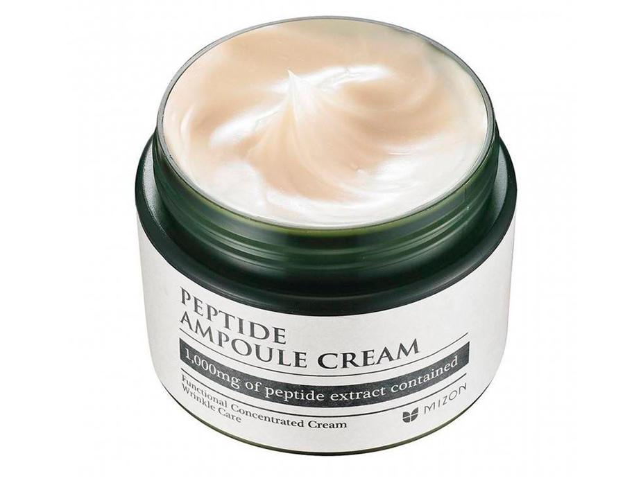 Пептидный крем для лица Mizon Peptide Ampoule Cream, 50мл - Фото №2