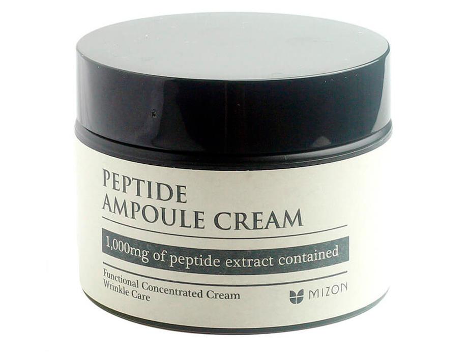 Пептидный крем для лица Mizon Peptide Ampoule Cream, 50мл - Фото №3
