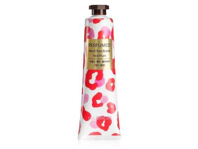 Парфюмированный крем-баттер для рук с маслом ши «Красная слива» The Saem Perfumed Hand Shea Butter Red Plum, 30мл - Фото №1