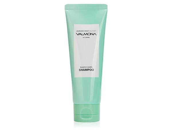 Восстанавливающий шампунь для волос Черный тмин Valmona Ayurvedic Scalp Solution Black Cumin Shampoo, 100мл - Фото №1