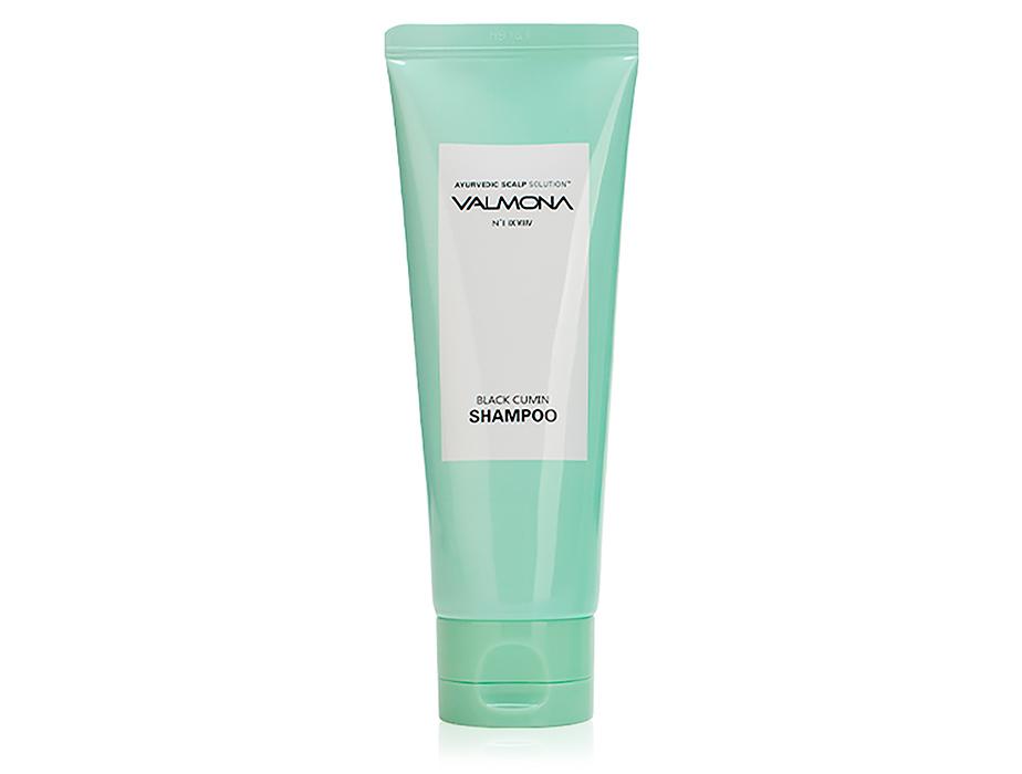 Восстанавливающий шампунь для волос Черный тмин Valmona Ayurvedic Scalp Solution Black Cumin Shampoo, 100мл