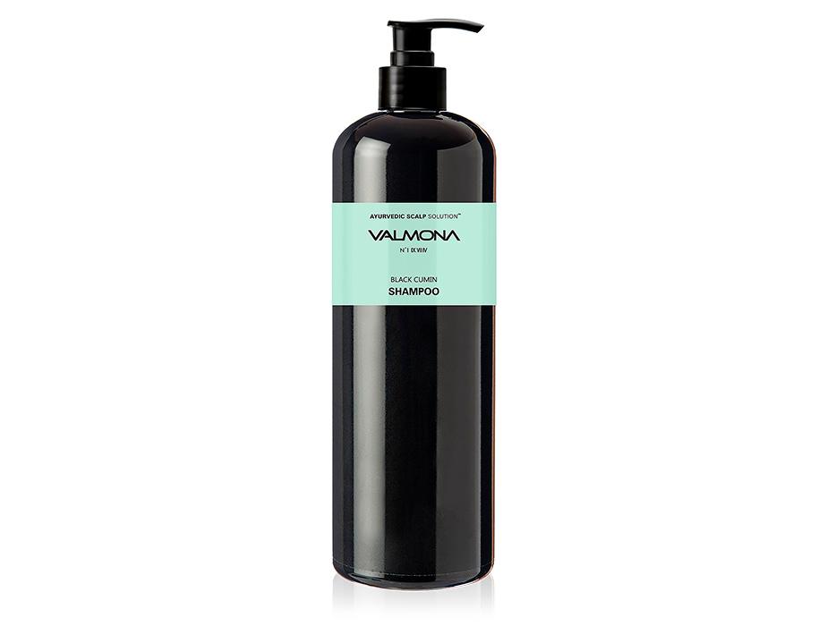 Восстанавливающий шампунь для волос Черный тмин Valmona Ayurvedic Scalp Solution Black Cumin Shampoo, 480мл