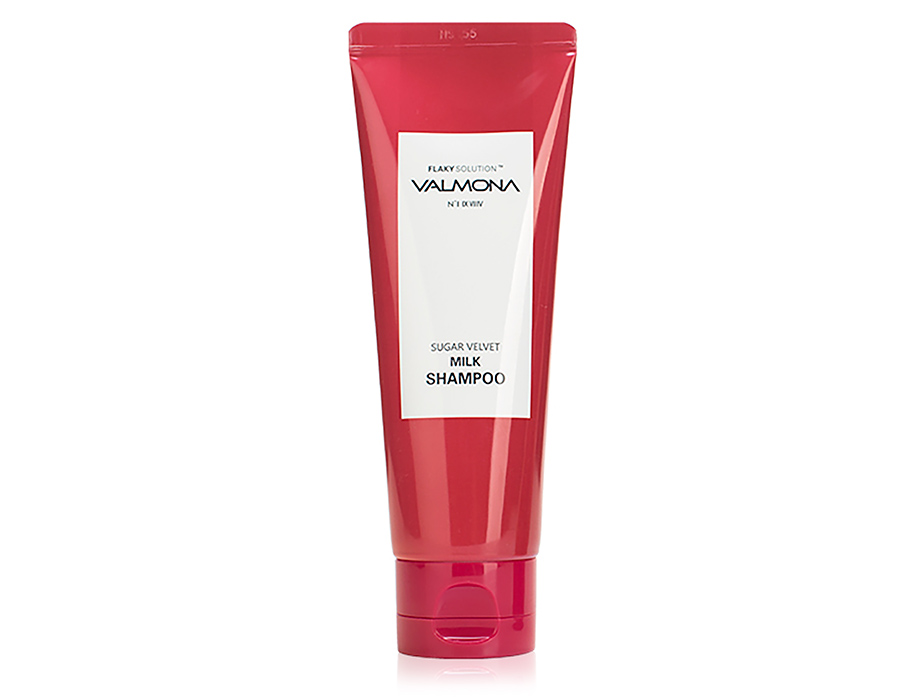 Восстанавливающий шампунь для волос Valmona Flaky Solution Sugar Velvet Milk Shampoo, 100мл