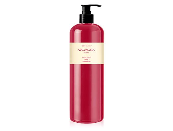 Восстанавливающий шампунь для волос Valmona Flaky Solution Sugar Velvet Milk Shampoo, 480мл - Фото №1