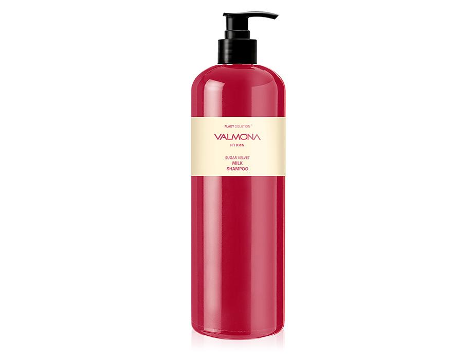 Восстанавливающий шампунь для волос Valmona Flaky Solution Sugar Velvet Milk Shampoo, 480мл