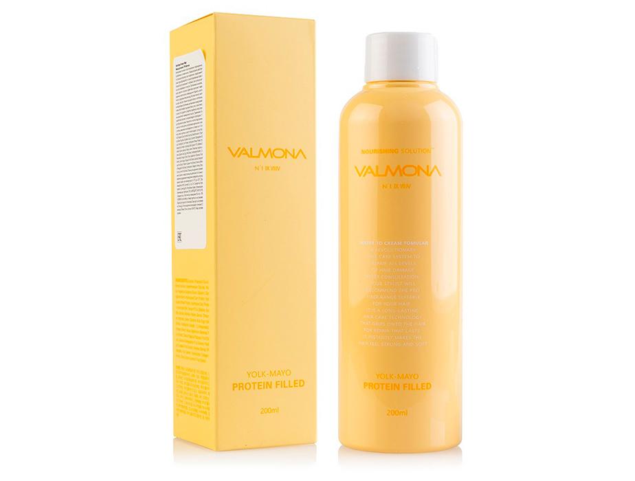Питательная маска-филлер для волос Valmona Nourishing Solution Yolk-Mayo Protein Filled, 200мл - Фото №2