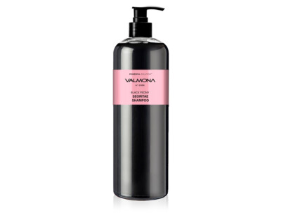 Увлажняющий шампунь для волос Черный пион Valmona Powerful Solution Black Peony Seoritae Shampoo, 480мл - Фото №1