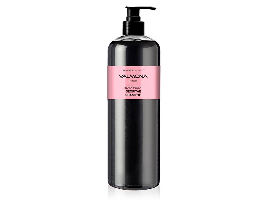 Увлажняющий шампунь для волос Черный пион Valmona Powerful Solution Black Peony Seoritae Shampoo, 480мл