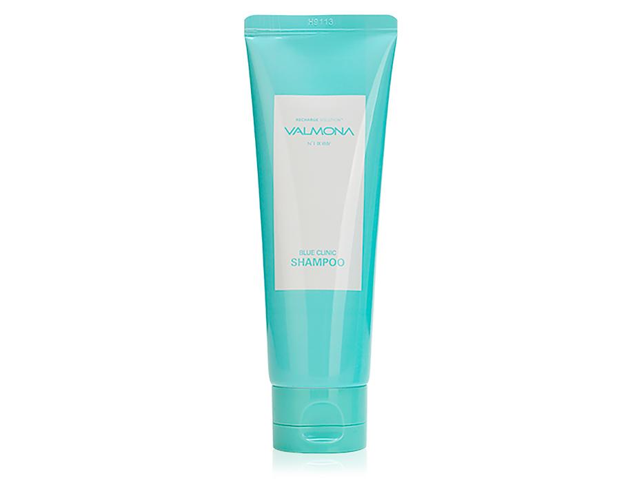 Увлажняющий шампунь для волос Valmona Recharge Solution Blue Clinic Shampoo, 100мл