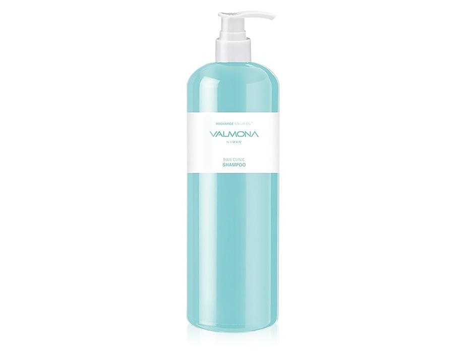Увлажняющий шампунь для волос Valmona Recharge Solution Blue Clinic Shampoo, 480мл