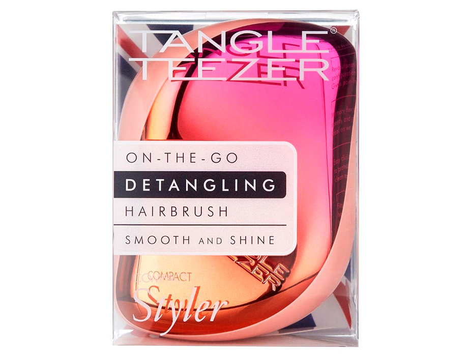 Расческа Tangle Teezer Compact Styler Cerise Pink Ombre - Фото №8