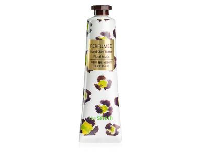 Парфюмированный крем-баттер для рук с маслом ши «Мускус» The Saem Perfumed Hand Shea Butter Floral Musk, 30мл - Фото №1