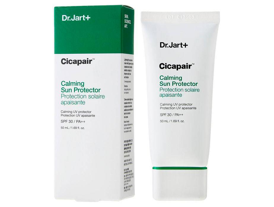 Успокаивающий солнцезащитный крем для лица Dr. Jart+ Cicapair Calming Sun Protector SPF 30, 50мл - Фото №2