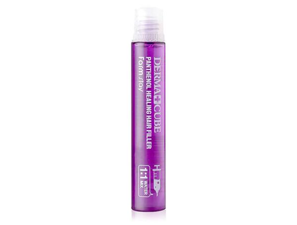Восстанавливающий филлер для волос с пантенолом FarmStay Dermacube Panthenol Healing Hair Filler, 13мл - Фото №1