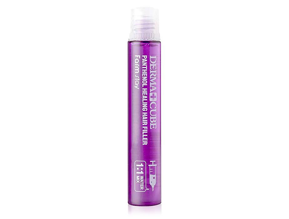 Восстанавливающий филлер для волос с пантенолом FarmStay Dermacube Panthenol Healing Hair Filler, 13мл