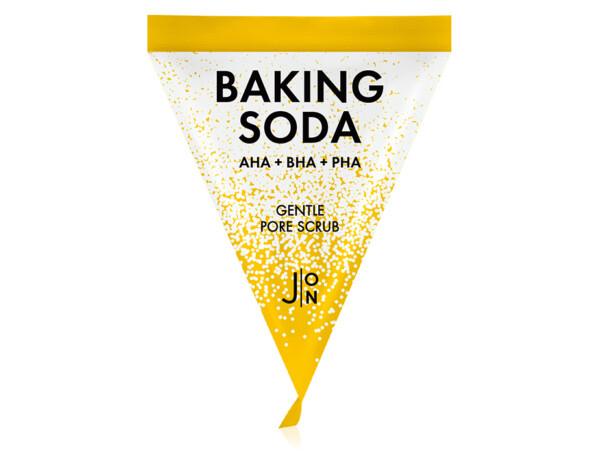 Содовый скраб для лица с 3 типами кислот J:ON Baking Soda Gentle Pore Scrub, 5г - Фото №1