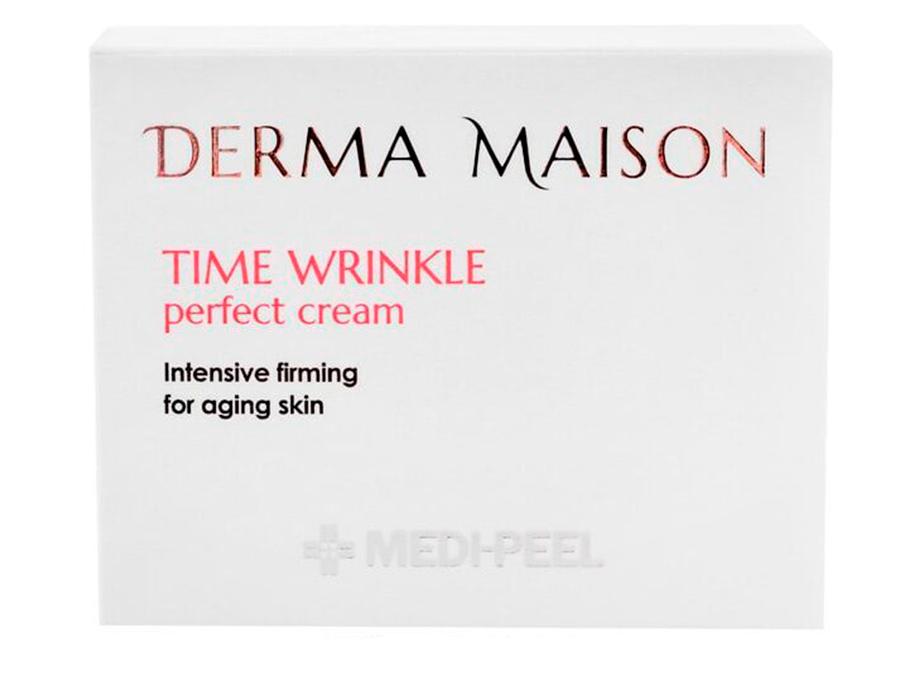 Разглаживающий крем для лица против морщин Medi-Peel Derma Maison Time Wrinkle Cream, 50мл - Фото №2