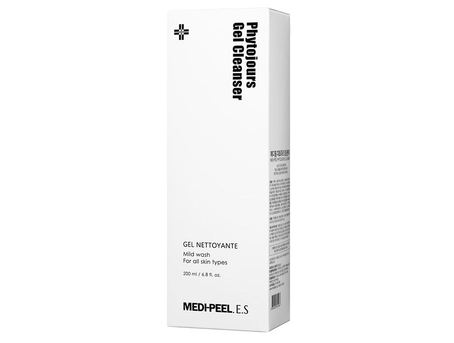 Очищающий фитогель для лица с аквапоринами и пептидным комплексом Medi-Peel Phytojours Gel Cleanser, 200мл - Фото №2