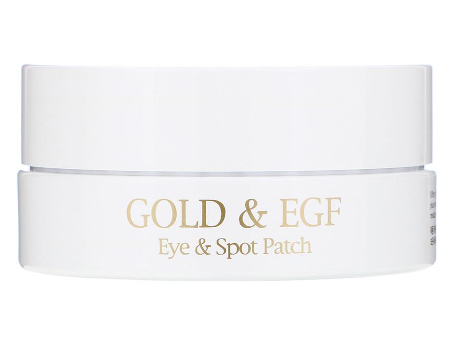 Гидрогелевые патчи под глаза с золотом и EGF Petitfee Gold & EGF Eye Spot Patch, 90шт - Фото №3