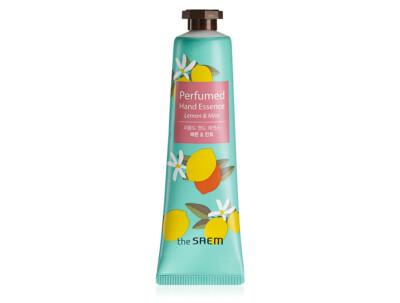 Парфюмированный крем-эссенция для рук «Лимон и мята» The Saem Perfumed Hand Essence Lemon & Mint, 30мл - Фото №1