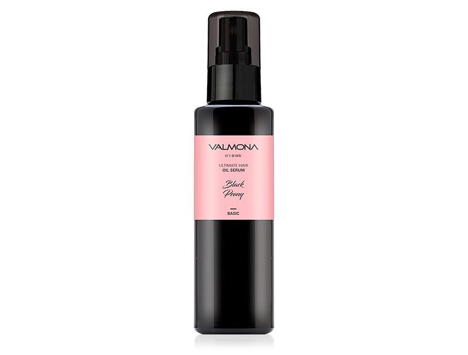 Восстанавливающая сыворотка для волос с ароматом чёрного пиона Valmona Ultimate Hair Oil Serum Black Peony, 100мл