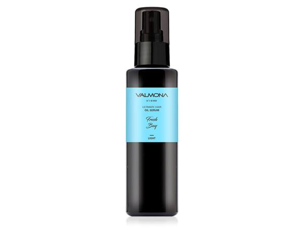 Восстанавливающая сыворотка для волос с ароматом свежести залива Valmona Ultimate Hair Oil Serum Fresh Bay, 100мл - Фото №1