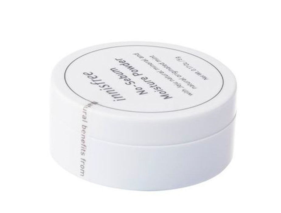 Минеральная рассыпчатая пудра для лица Innisfree No Sebum Mineral Powder, 5г - Фото №2